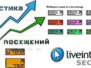 LiveInternet — статистика для вашего сайта